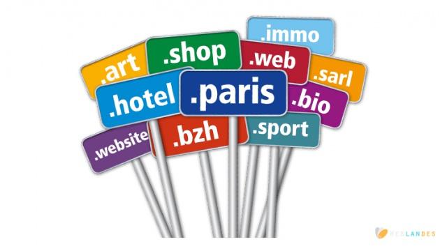 nom de domaine nouvelles extentions et referencement Le blog et journal d'activité, publication et article de Weblandes.com.