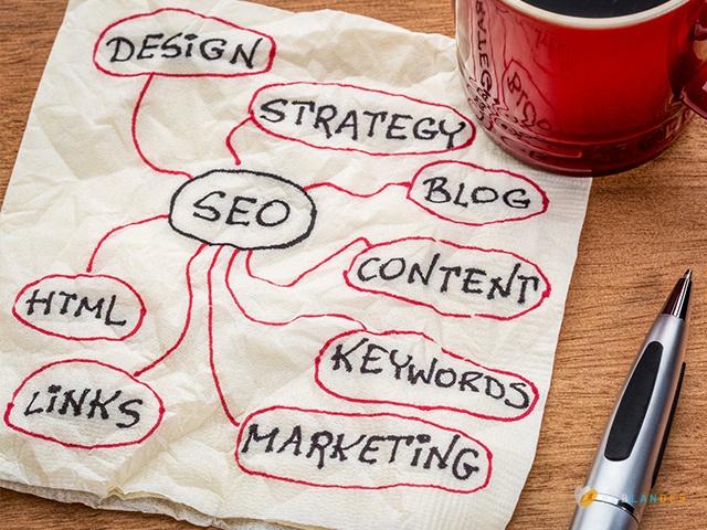 12 points cles pour ameliorer le referencement naturel Le blog et journal d'activité, publication et article de Weblandes.com.
